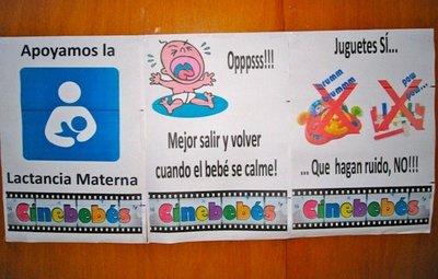 Cinebebés, al cine con bebés y niños