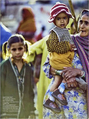 Vogue India pobres