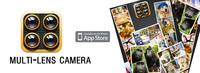 Multi-lens Camera: dípticos, trípticos... en tiempo real gratis para iOS