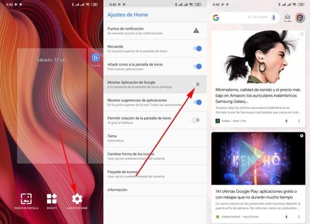 Google Discover Xiaomi Miui
