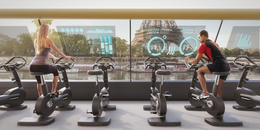 Paris Floating Gym 3