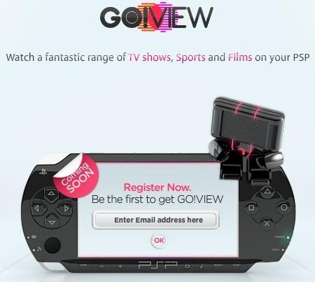 Go! View, el servicio de vídeo bajo demanda para PSP, llegará a España