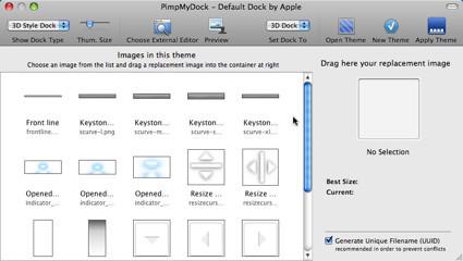 PimpMyDock facilita la personalización del Dock de Leopard