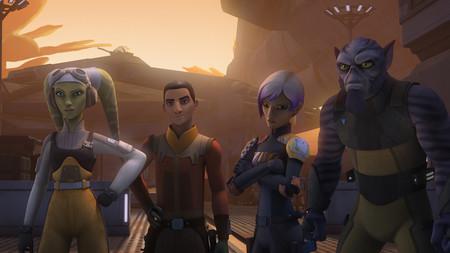 La tercera temporada de 'Star Wars Rebels' llega el sábado a Disney XD España