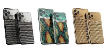 Oro, diamantes, piel de pitón o de cocodrilo: estos iPhone 11 Pro son los más caros del mundo, y no los vende Apple