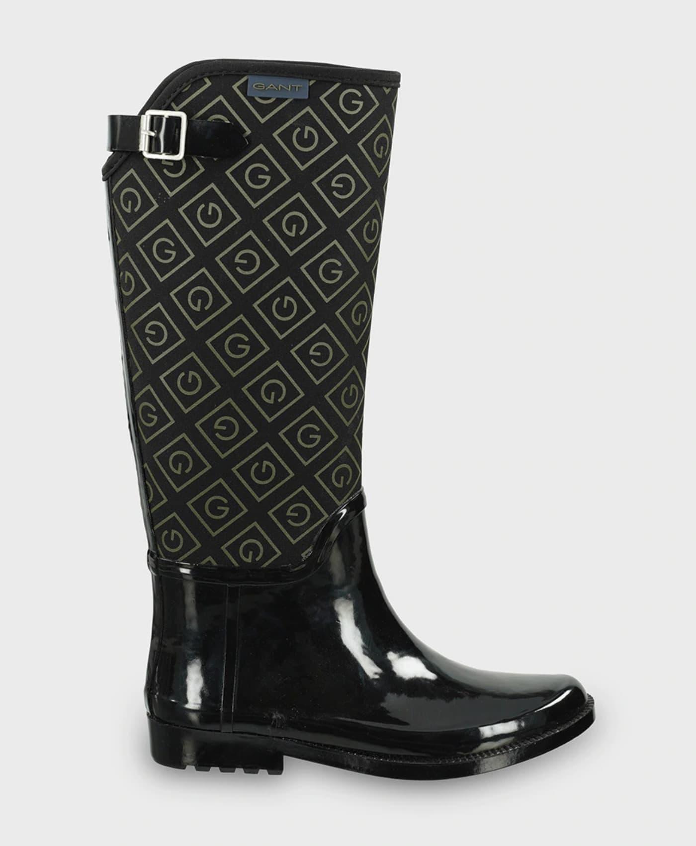Botas de agua de mujer Gant de color negro
