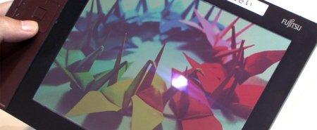 Fujitsu muestra su nueva generación de pantallas de papel electrónico a color