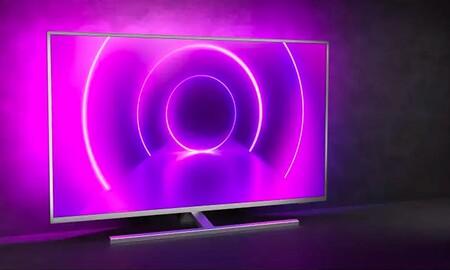 Estrenar smart TV con Ambilight te costará menos con esta Philips 50PUS8555/12 que El Corte Inglés te deja por 559 euros más barata que ninguna otra tienda