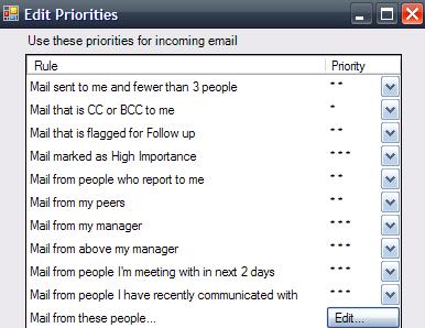Reglas de prioridad