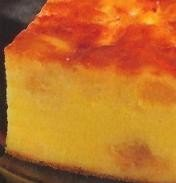 Pastel de queso con piña