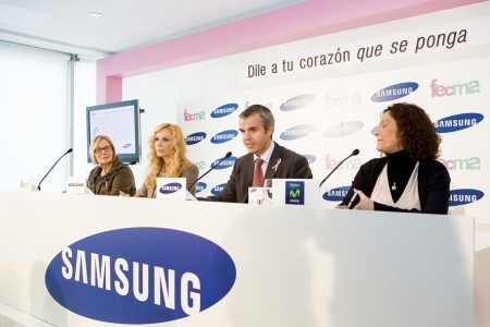 Samsung Z240 colabora en la lucha contra el cáncer