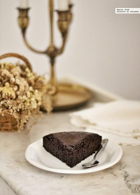 Devil´s Food Cake. Receta de pastel demoniaco de delicioso chocolate
