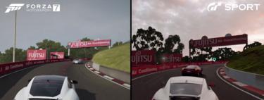 Gran Turismo Sport frente a Forza 7: Digital Foundry firma la comparativa visual definitiva