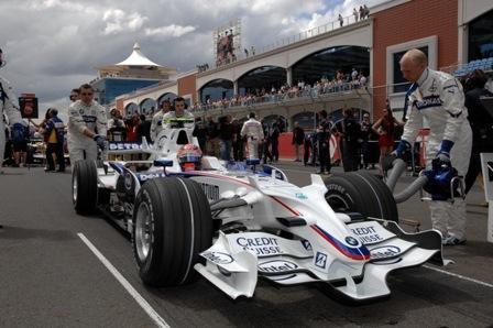 BMW Sauber espera una gran actuación en Mónaco