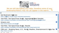 Mozilla lanza las APIs para Weave