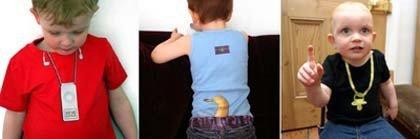 Camisetas de diseño para bebés