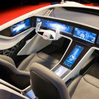 Con su prototipo de coche autónomo Bosch nos inunda de datos, funciones y pantallas táctiles