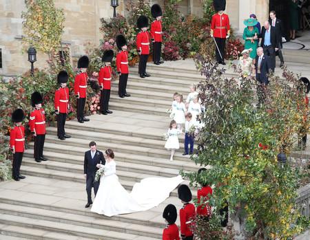 La Princesa Eugenia De York Y Jack Brooksbank Ya Son Marido Y Mujer 1