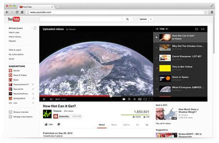 YouTube estrena rediseño mucho más sencillo y funcional