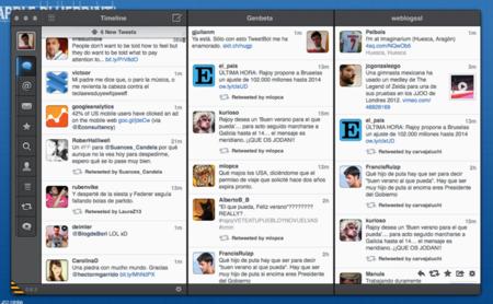Tweetbot para Mac se actualiza soportando múltiples columnas