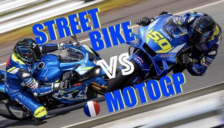 Las diferencias entre una MotoGP y una moto Superbikes según Sylvain Guintoli, piloto probador de Suzuki