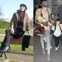 Famosas y bloggers saben como llevar abrigos y chalecos de pieles