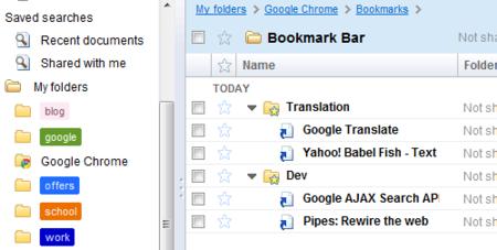 Google Chrome sincroniza marcadores