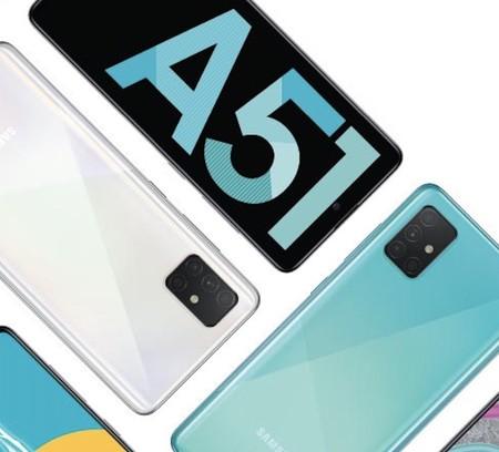 Samsung Galaxy A51: un gama media que presume de cuádruple cámara y agujero en pantalla para aprovechar sus bordes