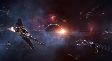 Spaceships in EVE Online