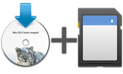 Instala Mac OS X en una tarjeta SD o desde ella