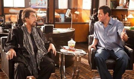 Al Pacino y Adam Sandler