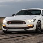 Así es la diferencia de poder de un Ford Mustang Shelby GT350R stock contra uno preparado por Hennessey