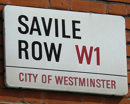 Savile Row, la calle londinense de los sastres que vio el último concierto de The Beatles