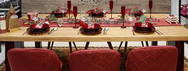 Amazon adelanta la Navidad con el color rojo y los accesorios de madera como protagonistas