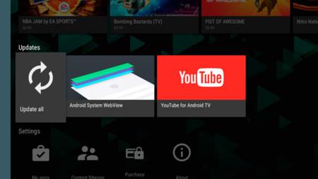 Google Play para Android TV se actualiza a la versión 5.4.12