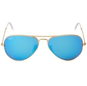 gafas ray ban aviator cristal azul