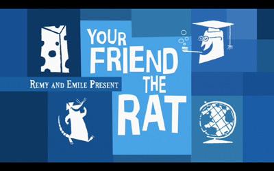 Revisando los cortos de Pixar, el paso adelante dado con 'Your Friend the Rat'