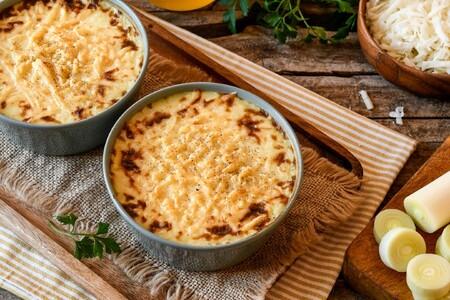Un toque diferente para enriquecer el puré de puerros y patatas