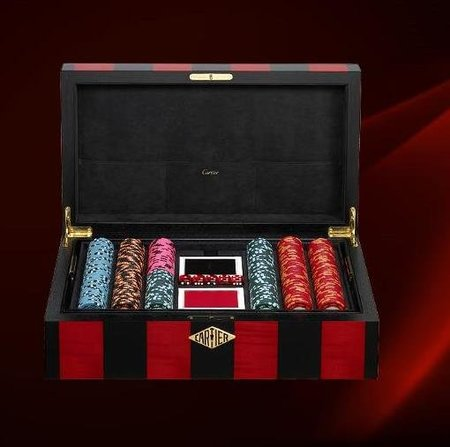 Juego de póker Cartier, edición limitada