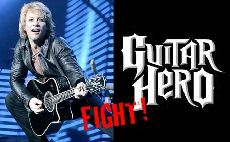 Bon Jovi Vs. 'Guitar Hero 5', ¡Fight!