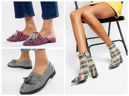 Zapatos Cuadros