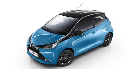 Edición especial del Toyota Aygo para los que se pirren por el color azul