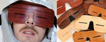 Slanties, gafas inspiradas en los esquimales