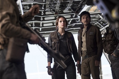 Rogue One Una Historia De Star Wars Felicity Jones Diego Luna