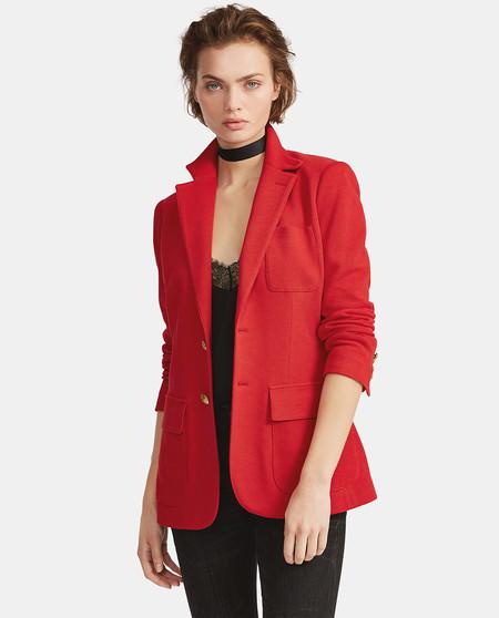 Blazer de mujer Polo Ralph Lauren con bolsillos de plastrón