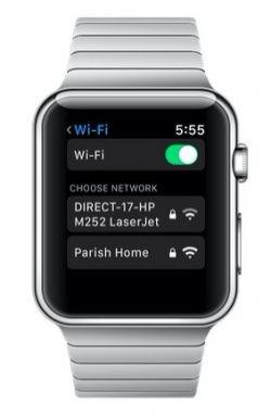 watchOS 5 permitirá conectarnos a una Wi-Fi desde el propio reloj