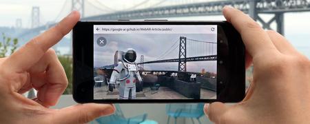 Google quiere acercar la realidad aumentada a los navegadores y las páginas web