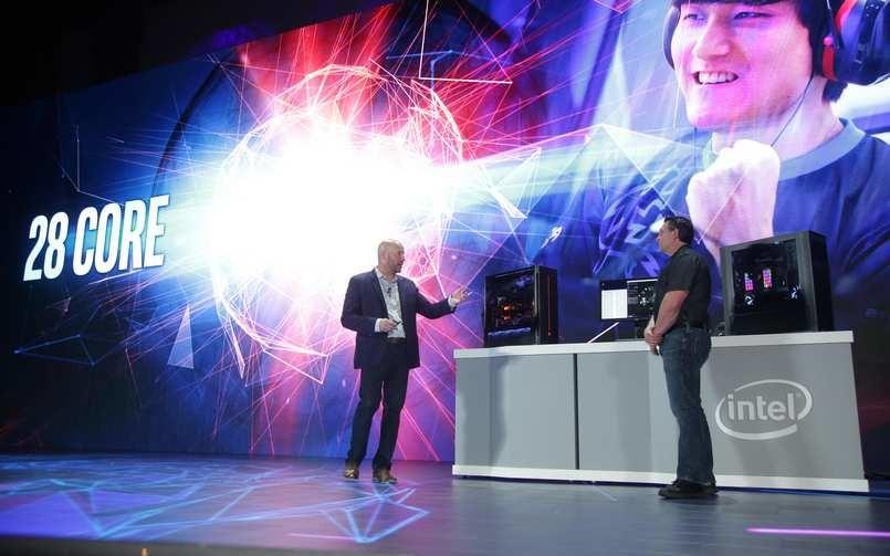 e8509eeb26c Intel tiene un arma bajo el brazo  un bestial procesador de 28 núcleos y 56  hilos a 5Ghz - HTCMania