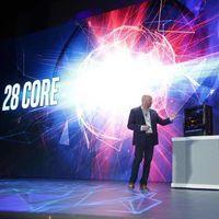 Intel tiene un arma bajo el brazo: un bestial procesador de 28 núcleos y 56 hilos a 5Ghz