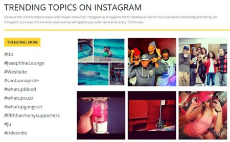 Instawaves, descubriendo los Trending Topics de Instagram